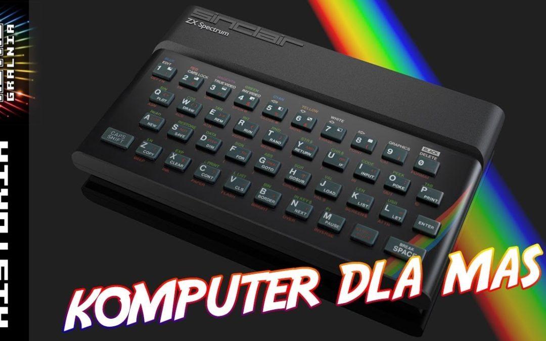 ?? Od Komputerowej Pustyni do ZX Spectrum – Maszyna Sinclara w Polsce i nie tylko