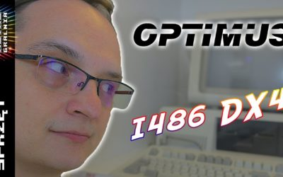💾 Optimus – Mój Pierwszy PC-et – Intel i486 DX4 100 MHz
