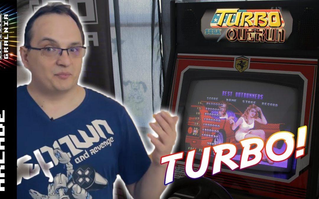 ?️ Turbo Outrun – Fajna Maszyna Arcade z Wykopem