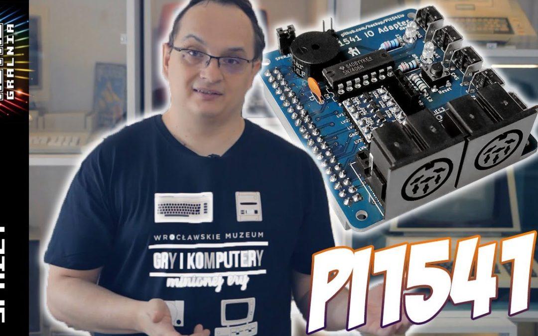 💾 Pi 1541 – Ostateczny Emulator Stacji Commodore, czy Gadżet dla Amatora Kabli?