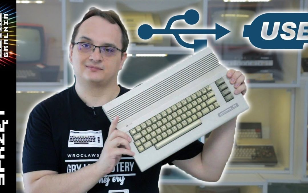 ⌨️ Jak podłączyć klawiaturę Commodore 64 do PC przez USB? Arduino!