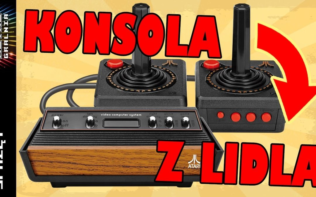 🕹️ Atari Flashback X 2019 – Konsola z Lidla – Recenzja