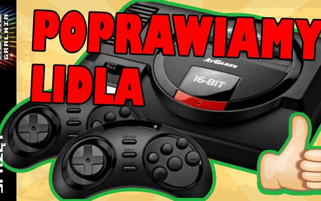 🕹️ Mortal Kombat odblokowany na konsoli z Lidla – AtGames Sega Flashback