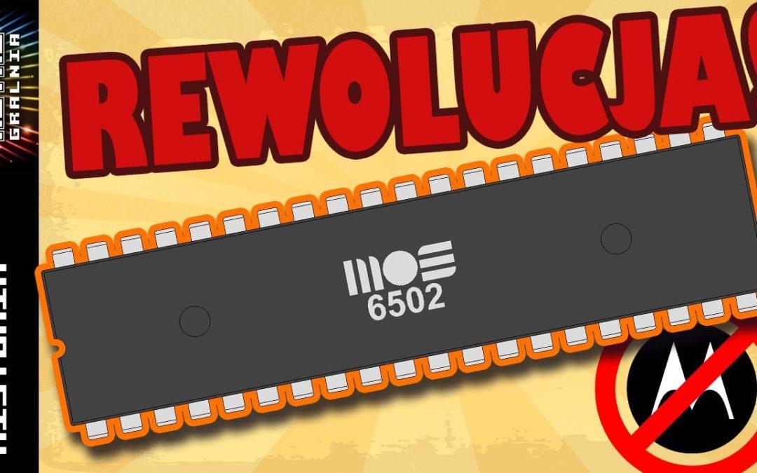 💻 MOS 6502 – Mikroprocesor, który rozpoczął rewolucje!