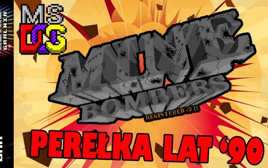 🧨 Mine Bombers – Perełka MS-DOS z lat '90 – Smaczny Gorący Ziemniak!
