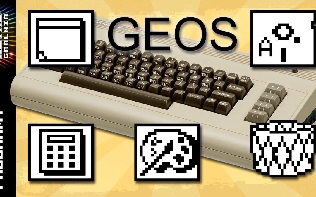 🖱️ System Operacyjny GEOS – Commodore 64, jako komputer profesjonalny, cz. 2