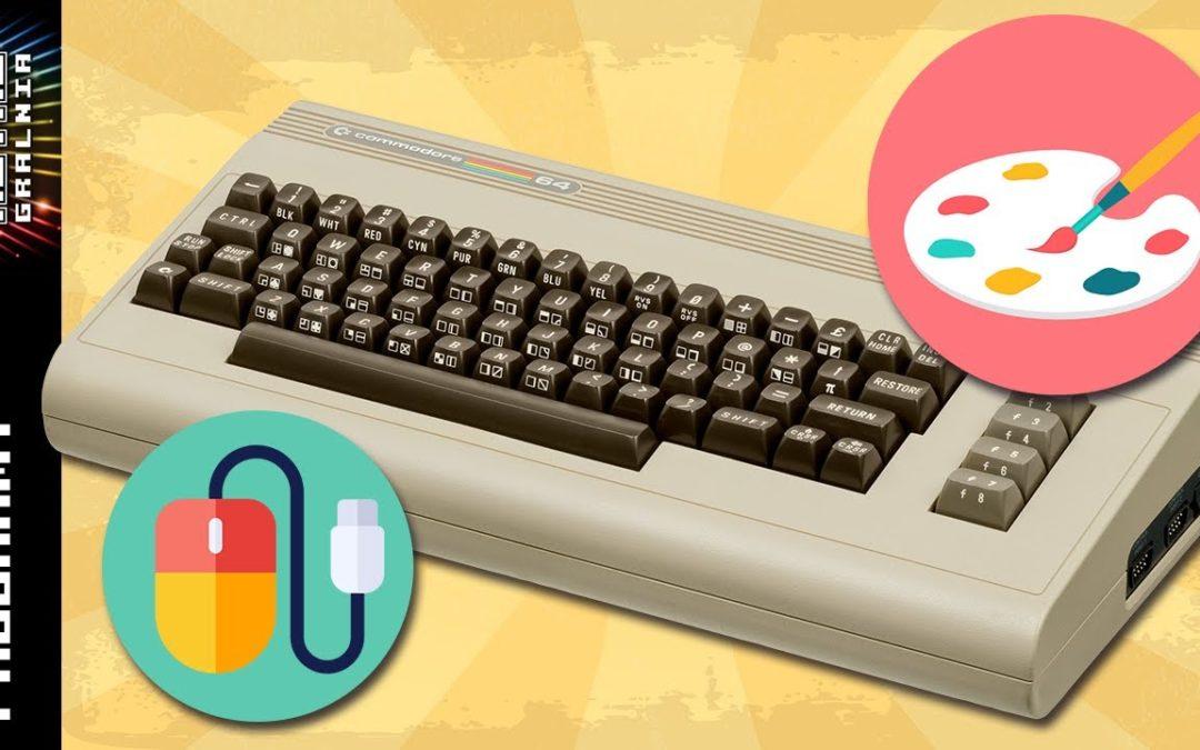 🎨 ArtStudio – Malowanie na Ekranie  – Commodore 64, jako komputer profesjonalny, cz. 3