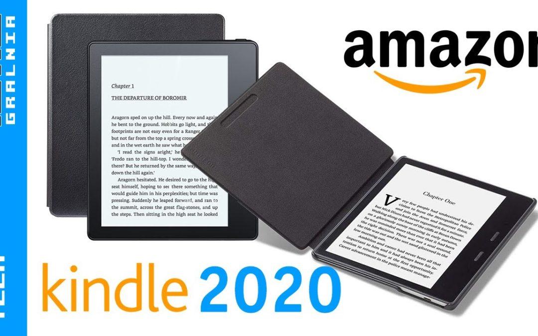 📘 Najlepszy Amazon Kindle Oasis w 2020 – Jaki czytnik ebooków kupić?