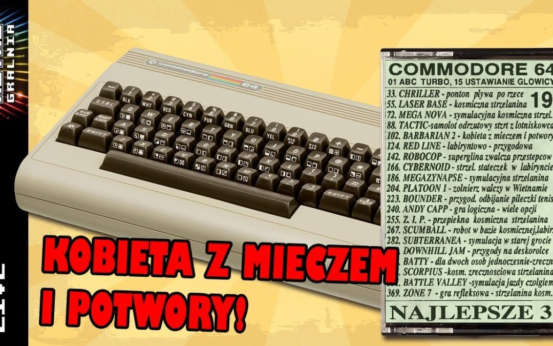 🔴 Nalepsze 3  – Commodore 64