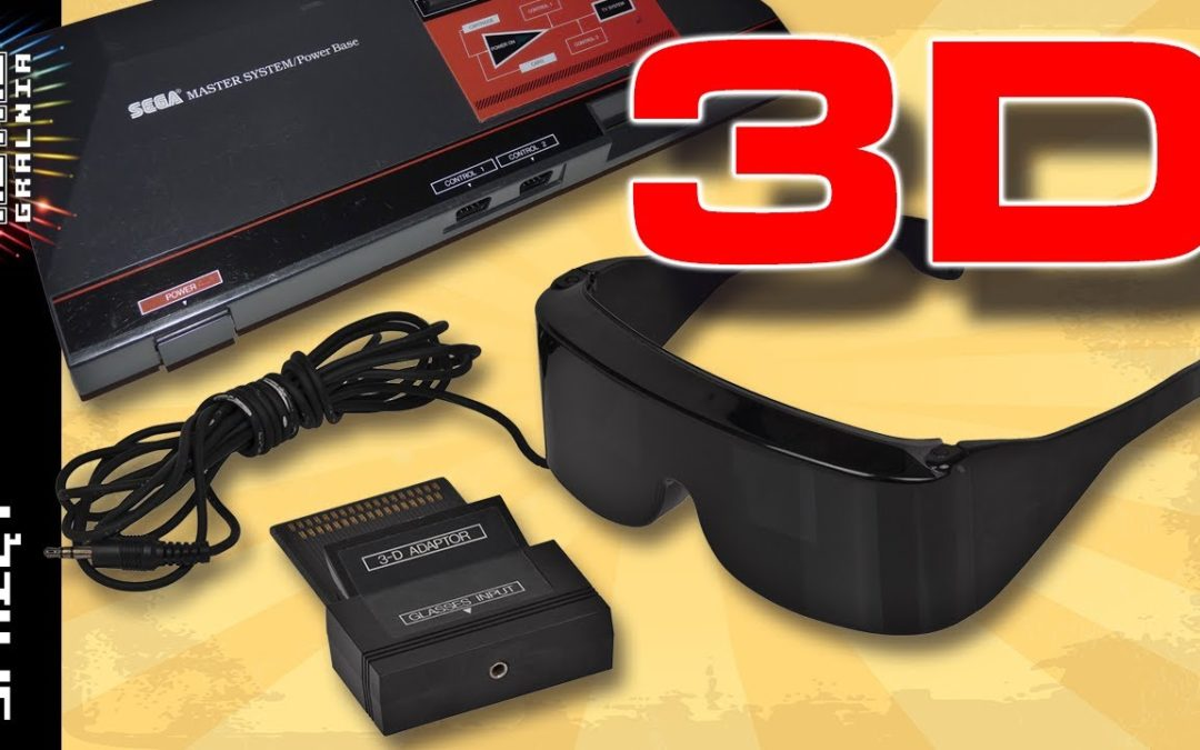 🕶️ SegaScope 3-D – Okulary 3d dla konsoli Sega Master System