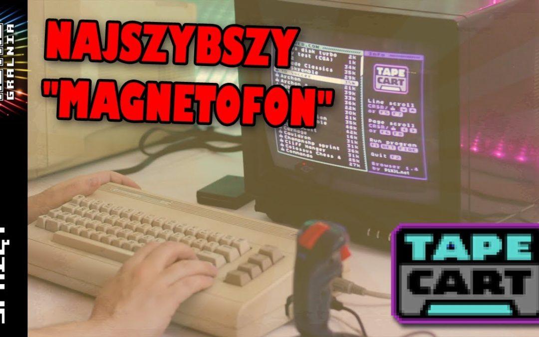 ⚡ Tapecart – Najszybszy magnetofon dla Commodore 64