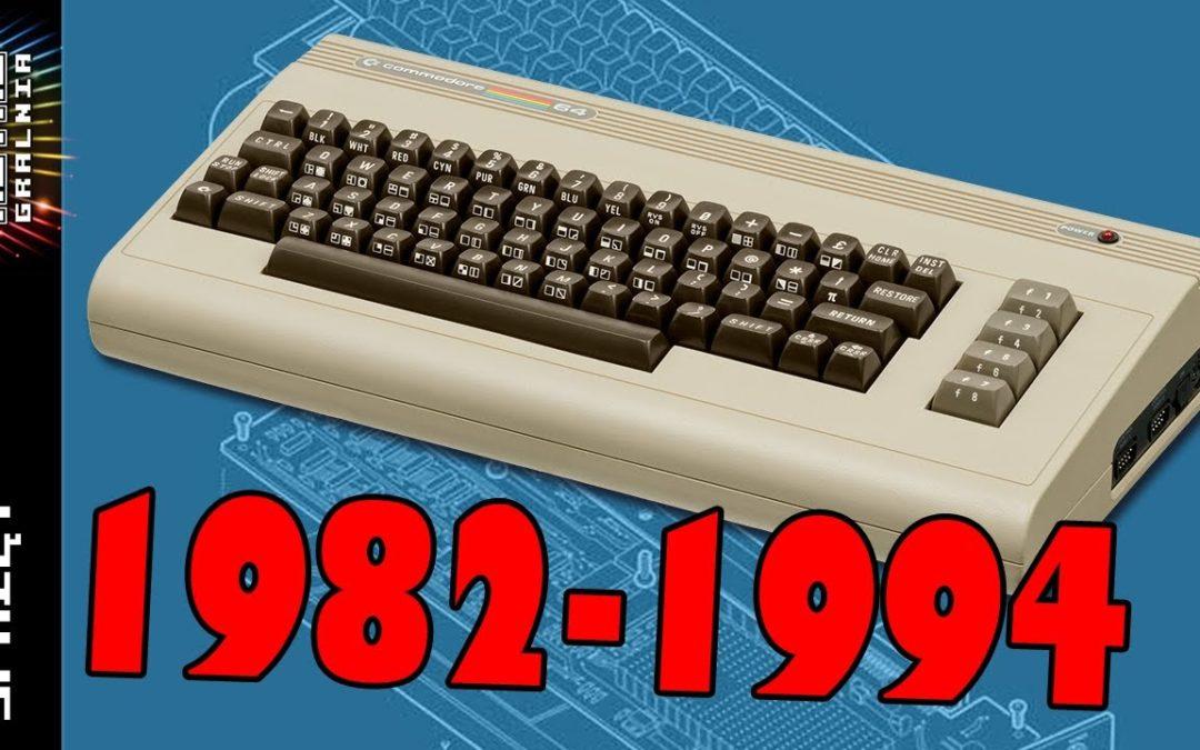 🕹️  Commodore 64: Przegląd Modeli 1982-1994 – od C64 do C64G