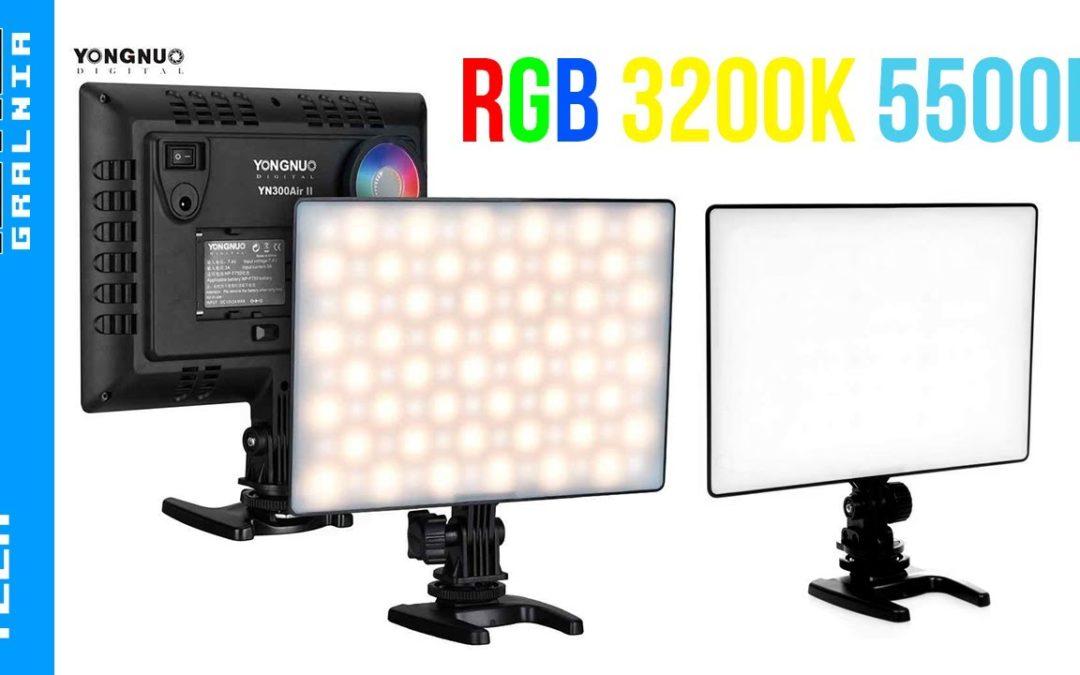 💡 Lampy YN300 AIR / YN300 AIR II RGB – Niedrogie lampy LED