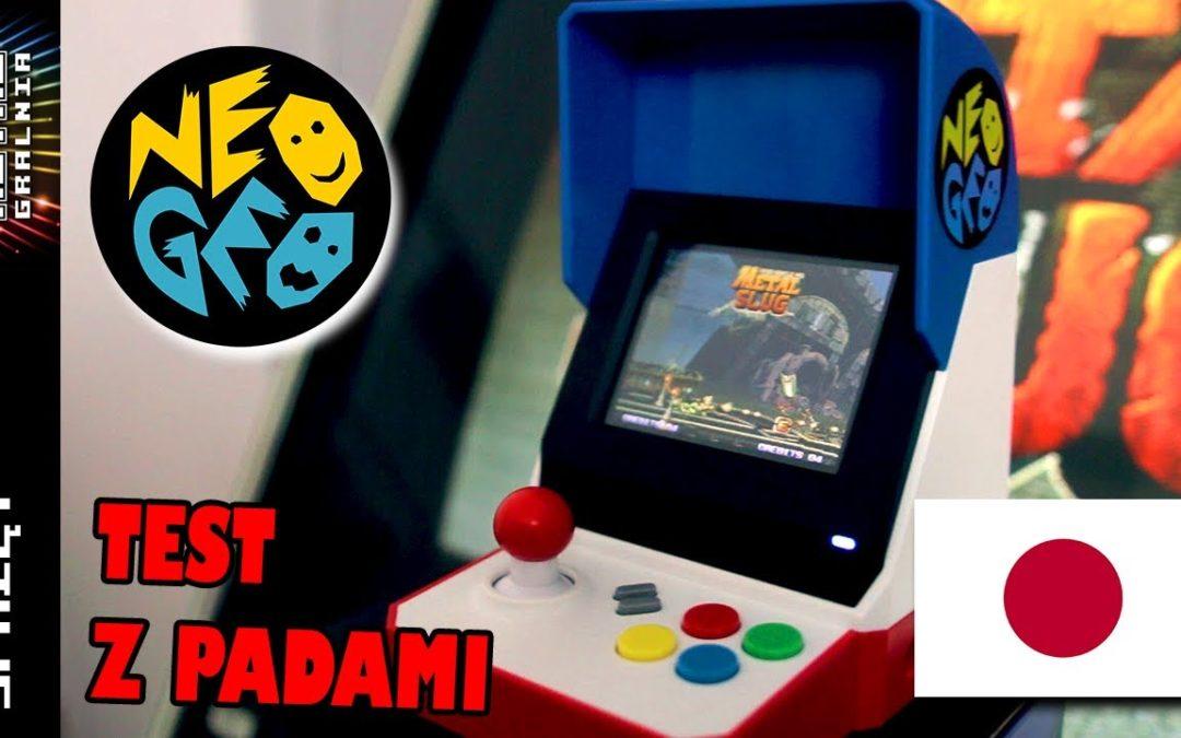 🕹️ NeoGeo Mini Arcade + Pady – Wersja Japońska/Azjatycka