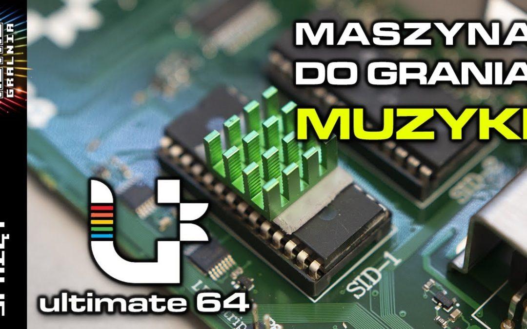 🎵 Komputer Muzyczny –  Ultimate 64 – otworzył mi uszy!