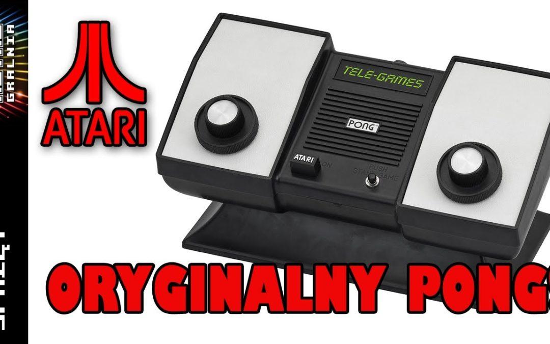 🎾 Pierwszy PONG: Atari Sears Telegames Pong – oryginał, którego pewnie nie znacie