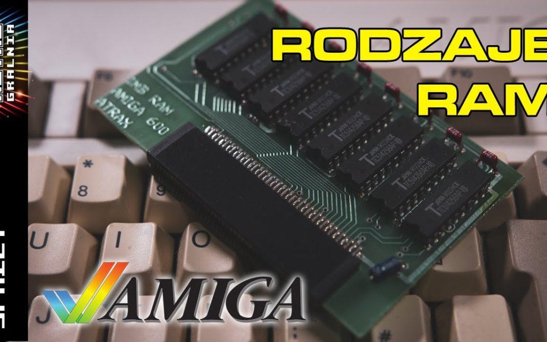 💻 Amiga Chip/Slow/Fast – Rodzaje pamięci RAM