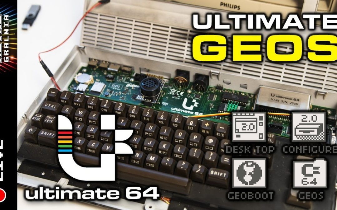 🔴  GEOS + Ultimate 64 – Sprawdźmy to!