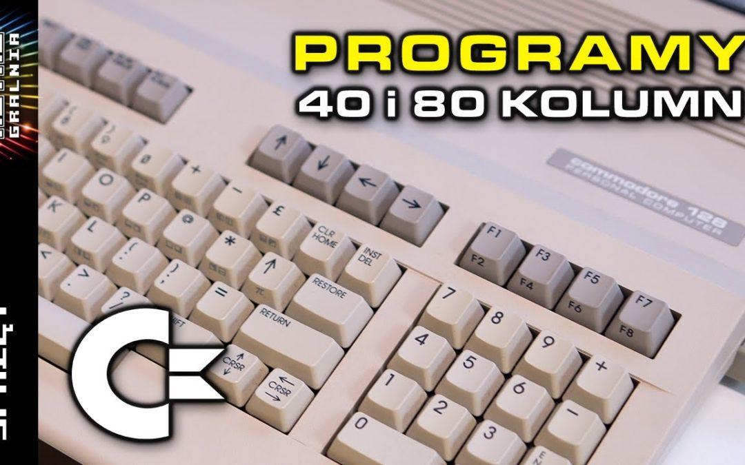 ⚙️ Commodore 128 – Oprogramowanie profesjonalne