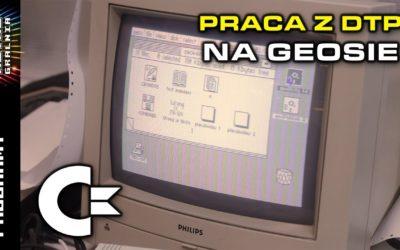 🖨️ DTP na Commodore 64 – Stwórzmy własną ulotkę!