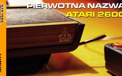 👾 Jak nazywała się najpierw Atari 2600? RetroGralnia #shorts