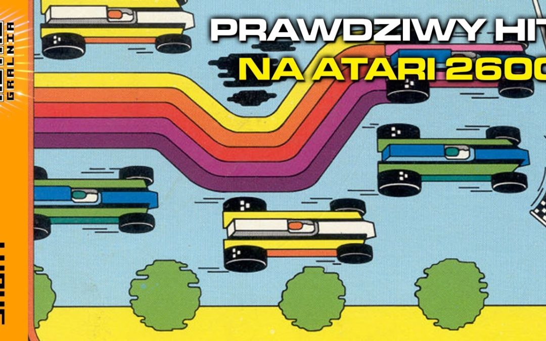 👾  Grand Prix – śliczna gra na Atari 2600  #Shorts