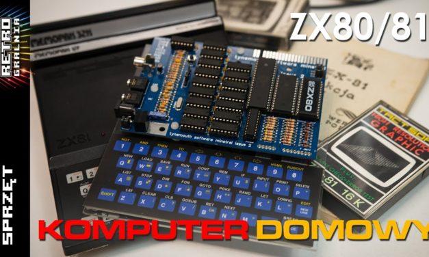 ⌨️ ZX80 / ZX81 – Proste komputery które zmieniły świat