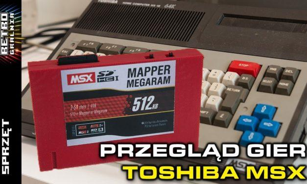 🕹️ MSX – Przegląd gier z użyciem MSX SD Mapper/MegaRAM 512KB (RG#395)