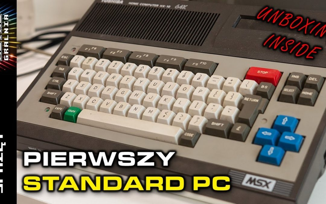 💻 Toshiba HX-10 – Komputer standardu MSX