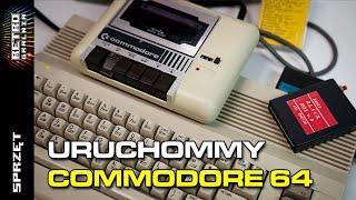⚙️ Commodore 64: Uruchamianie komputera i gier z kasety (poradnik)